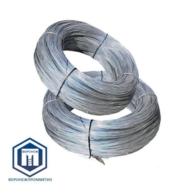 Проволока стальная вязальная оцинкованная общего назначения термонеобработанная ГОСТ 3282-74