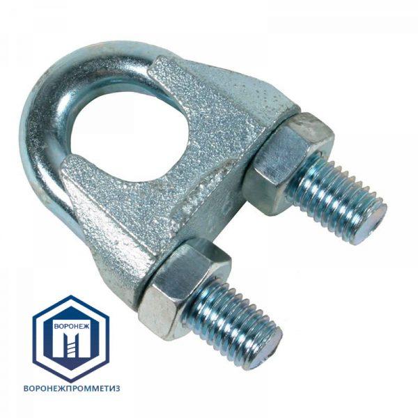 Зажим для стальных канатов DIN741